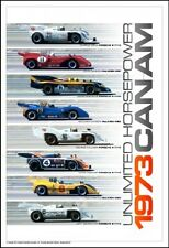 1973 Can-Am Unlimited Horsepower! 1st on Ebay Car Poster:)