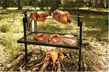 Texsport Rotisserie & Spit Grill Camping Fire Pits