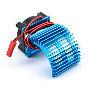380/540  RC Motor Radiator Heat Sink with Cooling Fan for 1:8/10 Electric RC Car