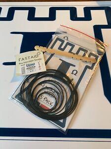 Linna pack of 15 Square Rubber Drive Belts Bands for Cassette Decks 30mm - 80mm