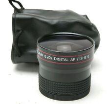 Precision Design 0.20x Digital AF Fish-Eye Auxiliary Lens f/Sony, Canon, Nikon.