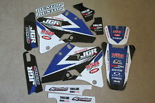 TEAM JGR TOYOTA  GRAPHICS  YAMAHA YZ125 YZ250  1996 1997 1998 1999 2000 2001