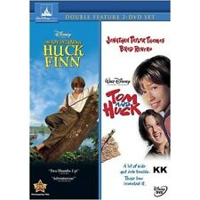 The Adventures Of Huck Finn + Tom and Huck (Disney) Region 4 New DVD (2 Discs)