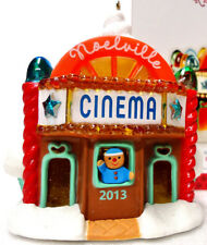 Hallmark 2013 Cinema Noelville #8 Series - Movie Theater - Magic Ornament Nib