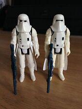 Star Wars Vintage Figures Snow troopers Complete