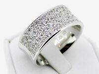 "Ring ""Funkelzauber"" 925er Sterling Silber mit Zirkonia Besatz, Neu!"