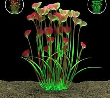 Butterfly Shape Artificial Aquarium Decorations Ornament Plants Fish Tanks Decor
