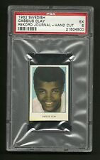 Cassius Clay Muhammad Ali 1962 Swedish Rekord Boxing Card PSA 5 EX