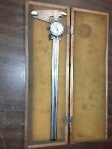 "Mitutoyo Caliper Micrometer 1"" - 12"" Vintage Chevy Box (6Z0 D2"