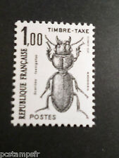 FRANCE 1982, timbre TAXE 106, Insectes Scarites neuf**