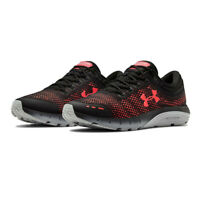 Under Armour Mens Charged Bandit 5 Running Shoes Trainers Sneakers - Black Red
