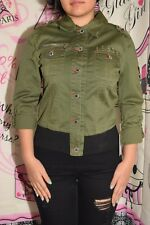 Dereon Beyonce Girls' military olive Jacket size XL (16) MSRP $68.00