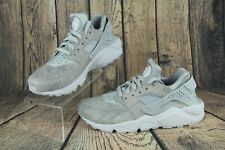 new style fea48 ab84e Nike Air Huarache Run Premium Mujer Platino Piel De Serpiente Zapatos  683818-014 Talla 10