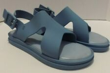 Melissa Womens Jelly Sandals Strappy Slingbacks Blue Size 6