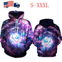 Women Men 3D Hoodie Hooded S-XXXL Sweatshirts T-Shirts Casual Pullover Coat Tops