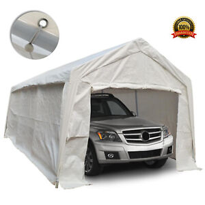 Portable Carport Gazebo Car Garage Tent Auto Shelter Canopy Outdoor Shed Marquee