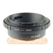 Canon FD Lens to Micro 4/3 adapter DMC-GF1 GH1 DMC-GF2 GH2 G2 G3 G1 DMC-G10