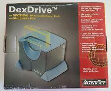 NEW 220V Europe Nintendo 64 Dex Drive Memory Card to PC Game Save Exchange N64