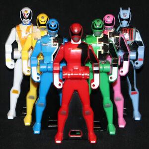 POWER RANGERS DEKARANGER SPD Ranger Key set of 7p Super Megaforce Morpher BANDAI