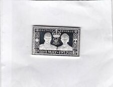 12Th May 1937 George Vi Silver Stamp Ingot Near Mint Condition