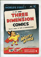 MIGHTY MOUSE #1 (4.0) NO 3-D GLASSES 1953