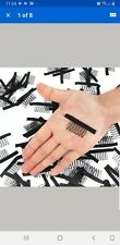 10 pcs Stock!!! 7 Teeth) Black Combs for your Full Wig Caps and hair extensio