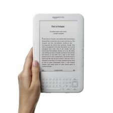 "Kindle Keyboard Free 3G + Wi-Fi, 6"" E Ink Display (3rd Gen, White) Scratch free!"