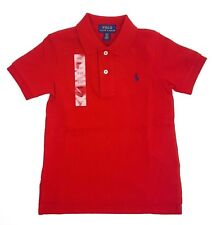 Boys Ralph Lauren Polo Shirt Various 101117 3t UK Age 2 Red
