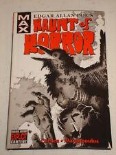 HAUNT OF HORROR MARVEL MAX EDGAR ALLAN POE HARDBACK SCARCE< 9780785122791