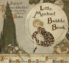 Musik. - The little Mischief. The Bubble Book mit 3 Schellack Platten. EA 1920