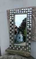 Spiegel Mosaik Rahmen Bauhaus Stil Tablett Tray Miroir mural et Plateau Vassoio