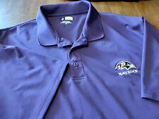 Mens XXLarge  Apparel Baltimore Ravens Polo Golf Shirt