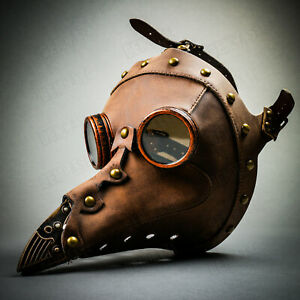 Steampunk Eye Patch Masque Argent Antique Victorian Costume acc pour homme Cyber adulte