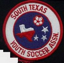 SOUTH TEXAS YOUTH ASSOCIATION FOOTBALL SOCCER JERSEY LOGO PATCH NEW