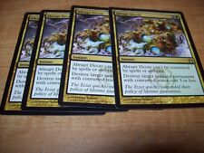 MTG NM Return to Ravnica Abrupt Decay X4 playset free shipping with tracking