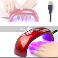 New Gel UV Nail Dryer Portable Nail Salon LED Nail Polish Curing Lamp CCFL