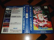 ## SEGA Mega Drive - Daze before Christmas Reproduktion / MD Spiel ##