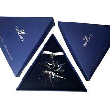 Swarovski 2017 Christmas Star / Snowflake - Mint, with both boxes