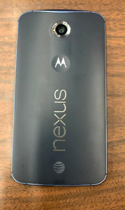 Motorola Nexus 6 4G att midnight blue
