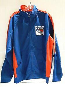 New York Rangers NHL Men's Full-Zip Jacket, Size Large