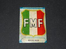 BADGE ESCUDO MEXICO MEXIQUE SICKER PANINI FOOTBALL 1966 ENGLAND 66