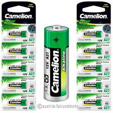 """""""10x A27 Alkaline PLUS Batterie LR27A MN27 Camelion"""