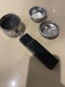 Gaggia Espresso Coffee Machine Filter Unit Portafilter with 2 Baskets
