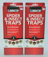 ELIMINATOR STICKY GLUE SPIDER INSECT TRAP SAFE NON-TOXIC ROACH ANT MICE SCORPION