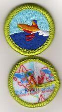 """Motorboating Merit Badge, Type L, """"Since 1910"""" Back (2012-Current)"""