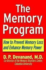Memory Program : How to Prevent Memory Loss and Enhance Memory Power: By Deva...