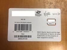 Sprint sim card SIMOLW416R 4G LTE UICC