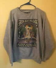 Vintage Green Bay Packers Super Bowl XXXI NFL Football Starter Sweatshirt Medium