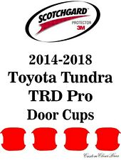 3M Scotchgard Paint Protection Film 2014 2015 2016 2017 2018 Toyota Tundra TRD