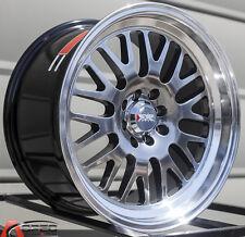 XXR 531 17X9 Rims 4x100/114.3 +25 Chromium Black Wheels (Set of 4)